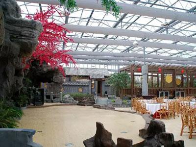 生態餐廳大棚