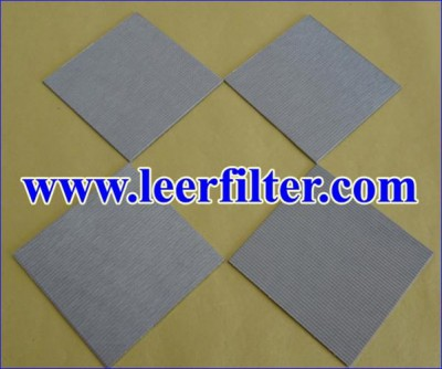 Sintered Metal Filter Plate