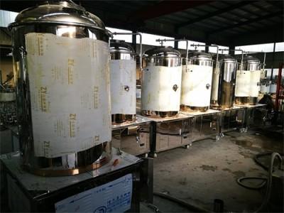 自酿啤酒设备能够有效保留啤酒的新鲜度