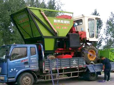 玉米青储收割机