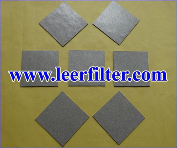 SS Powder Filter Sheet