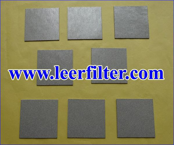Ti Powder Filter Plate