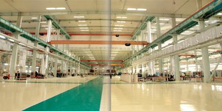 开封化工设备有限公司生产车间