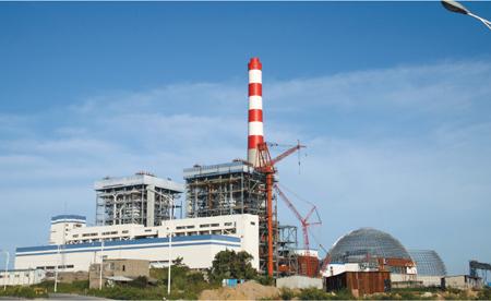 福煤集团石狮鸿山热电厂2x600MW工程