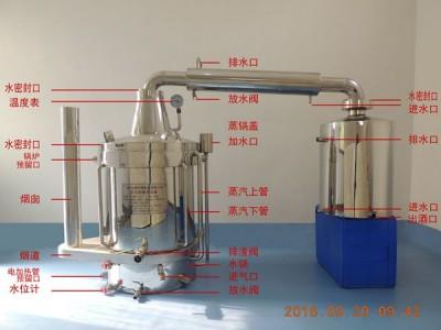 酒的质量和产量由酿酒设备决定