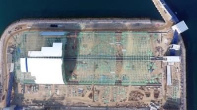中國能源建設集團浙江火電建設有限公司土耳其超超臨界燃煤電站工程-干煤棚封閉