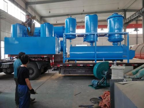 廢塑料煉油設備