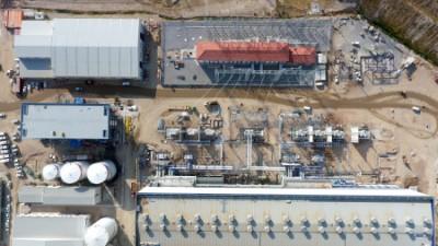 中国能源建设集团浙江火电建设有限公司土耳其超超临界燃煤电站工程-AB仓库安装封闭