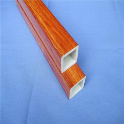 景龙供应玻璃钢仿真木纹管/木纹玻璃钢管/景区特定防火管