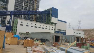 中國能源建設集團浙江火電建設有限公司土耳其超超臨界燃煤電站工程-曝氣風機封閉