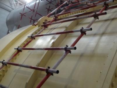 中電投河南電力有限公司平頂山發電分公司腳手架工程