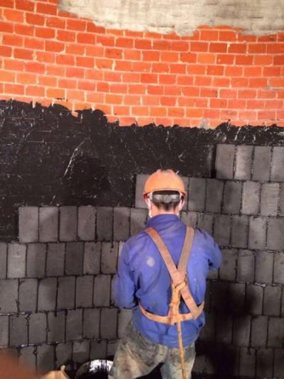 烟囱内壁、陶瓷玻化砖防腐