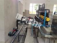 汙水處理施工現場