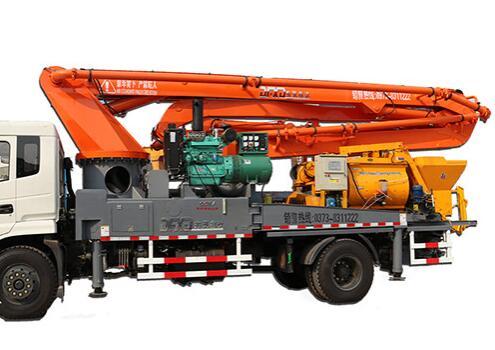 33米搅拌一体泵车