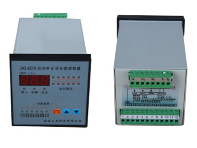 JKL4D无功功率自动补偿控制器