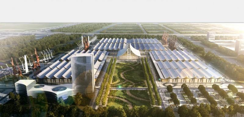 郑州新国际会展中心一期项目