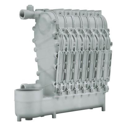 硅铝合金热交换器