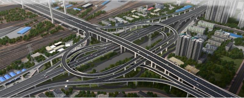 郑州市农业路快速通道工程(雄鹰东路-金源东街)直线段与互通立交项目
