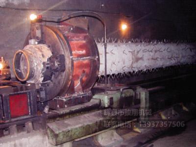 焊接后整体车削修复燃烧器头部