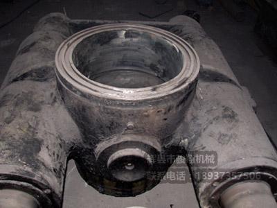 修复中的液压档轮