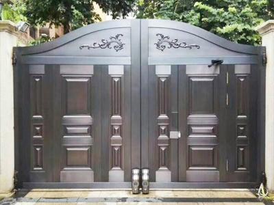 量達銅門安裝案例