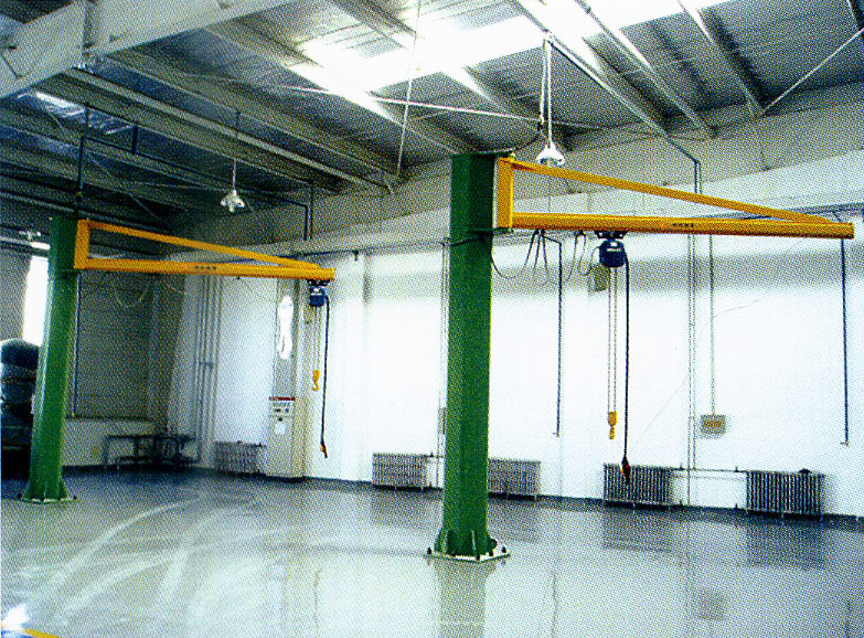 BZN型内挂定柱式旋臂起重机