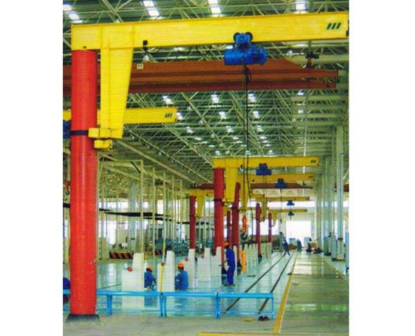 BZD型内滑环定柱式旋臂起重机