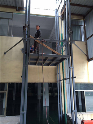 移动液压升降货梯
