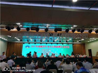参加全国无机盐碳酸钙会议