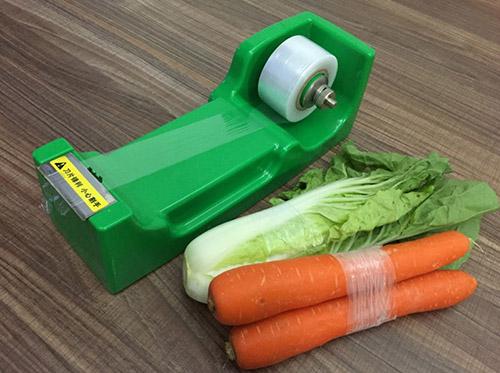 超市专用蔬菜捆菜机的应用
