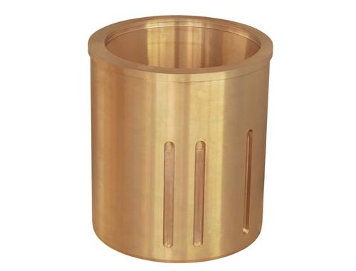 Eccentric copper sleeve