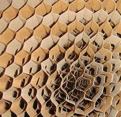 蜂窝纸门芯