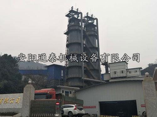 单座日产200T自动化环保石灰竖窑