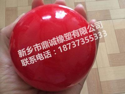 定做橡胶球