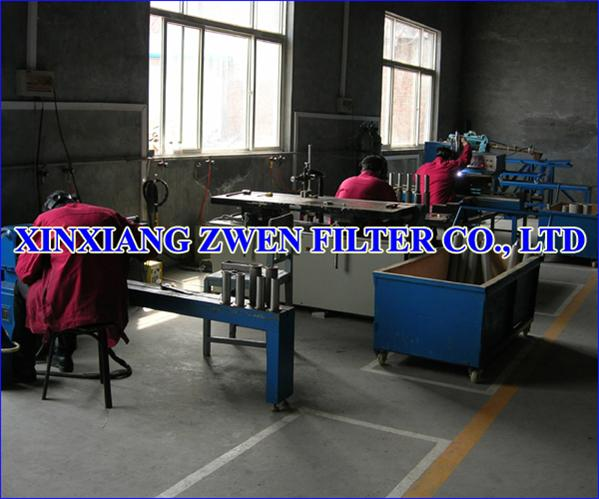 Sintered Metal Filter Element Manufacture