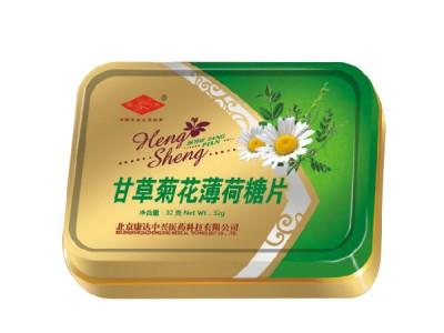 甘草菊花薄荷糖片