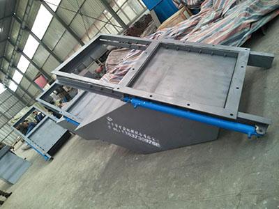 电液动平板闸门溜槽