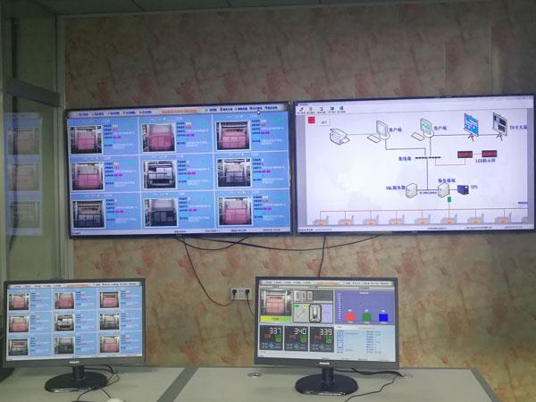 燃气炉集中控制系统