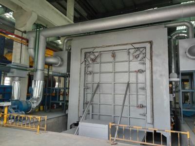 后墙移动变容式燃气加热炉