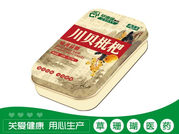 川贝枇杷味薄荷糖
