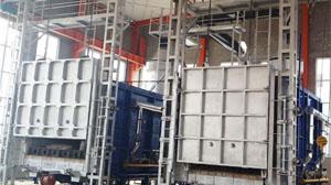 天然气台车炉