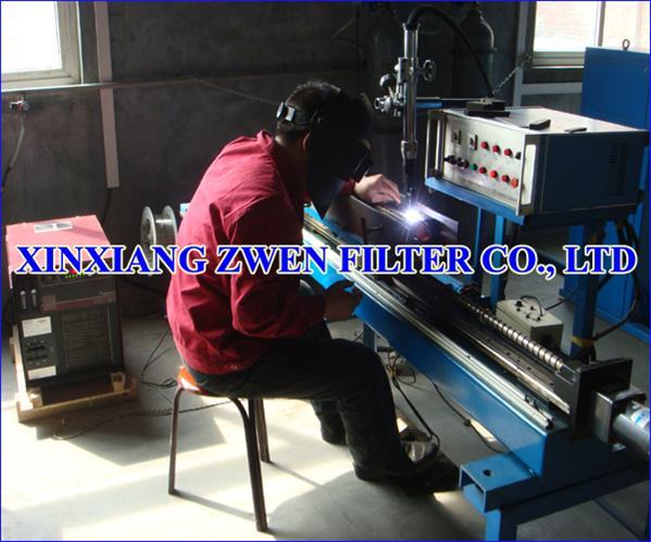 Sintered Metal Filter Tube Manufacture