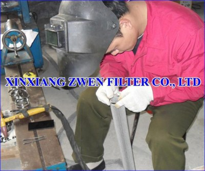 Pleated Metal Filter Element Manufacture