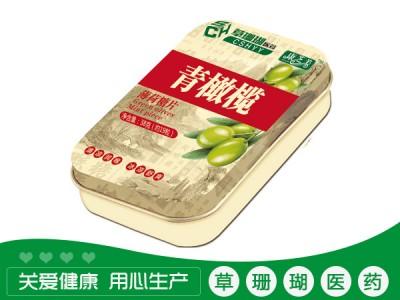 青橄榄薄荷糖片