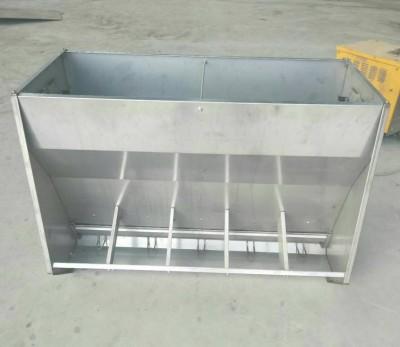 不锈钢料槽喂食槽育肥猪用不锈钢料槽