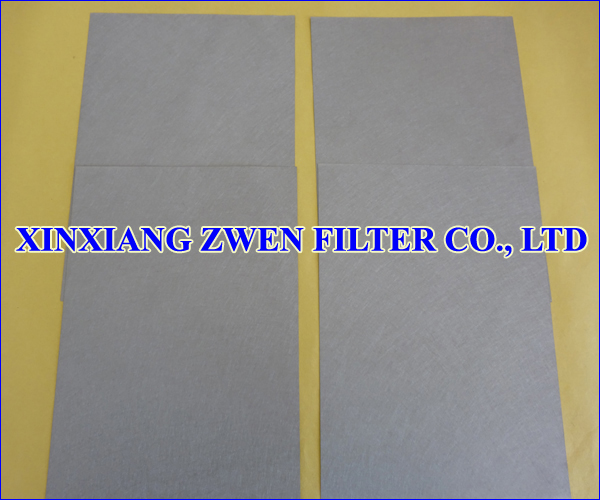 Sintered Metal Fiber Felt Sheet