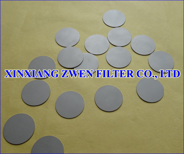 Titanium Filter Disc