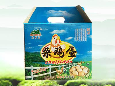 礼盒装优质柴鸡蛋-美味营养(10斤装)