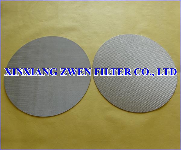Sintered Filter Disc