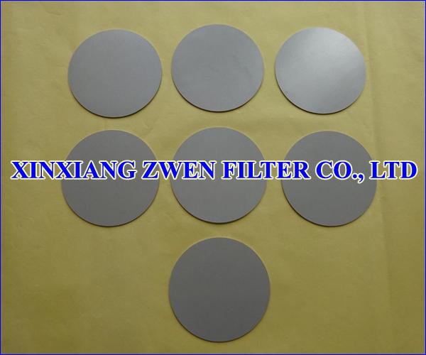 Sintered Powder Filter Disk